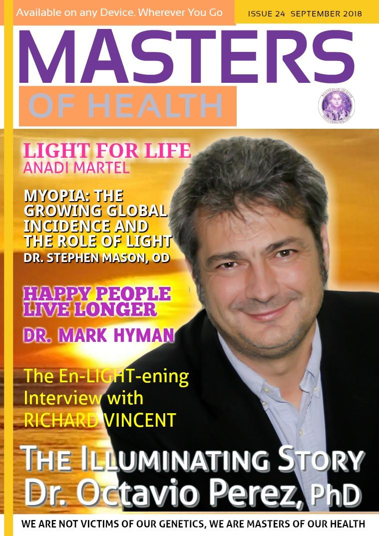 Masters of Health Magazine September 2018