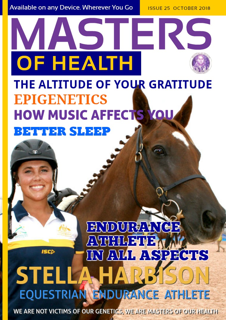 Masters of Health Magazine October 2018
