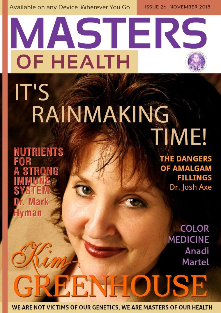 Masters of Health Magazine November 2018