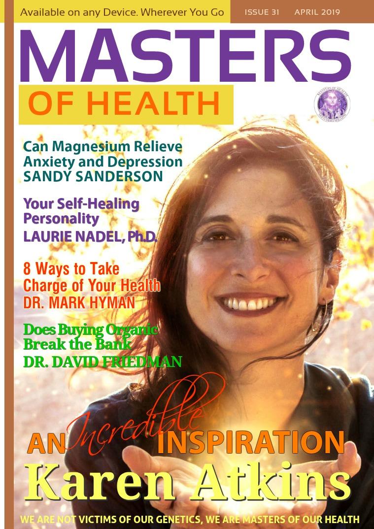Masters of Health Magazine April 2019