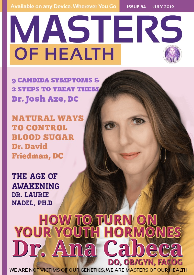 Masters of Health Magazine July 2019