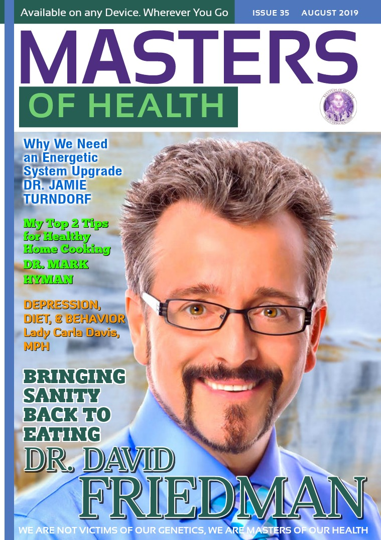 Masters of Health Magazine August 2019