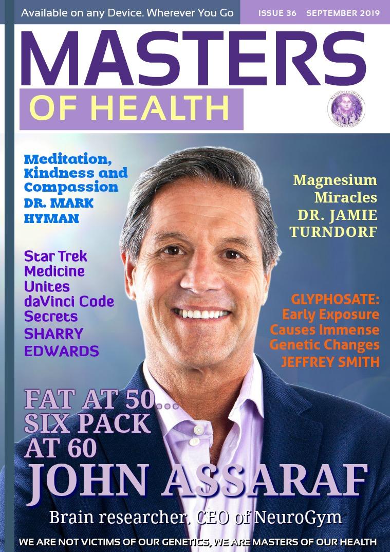Masters of Health Magazine September  2019