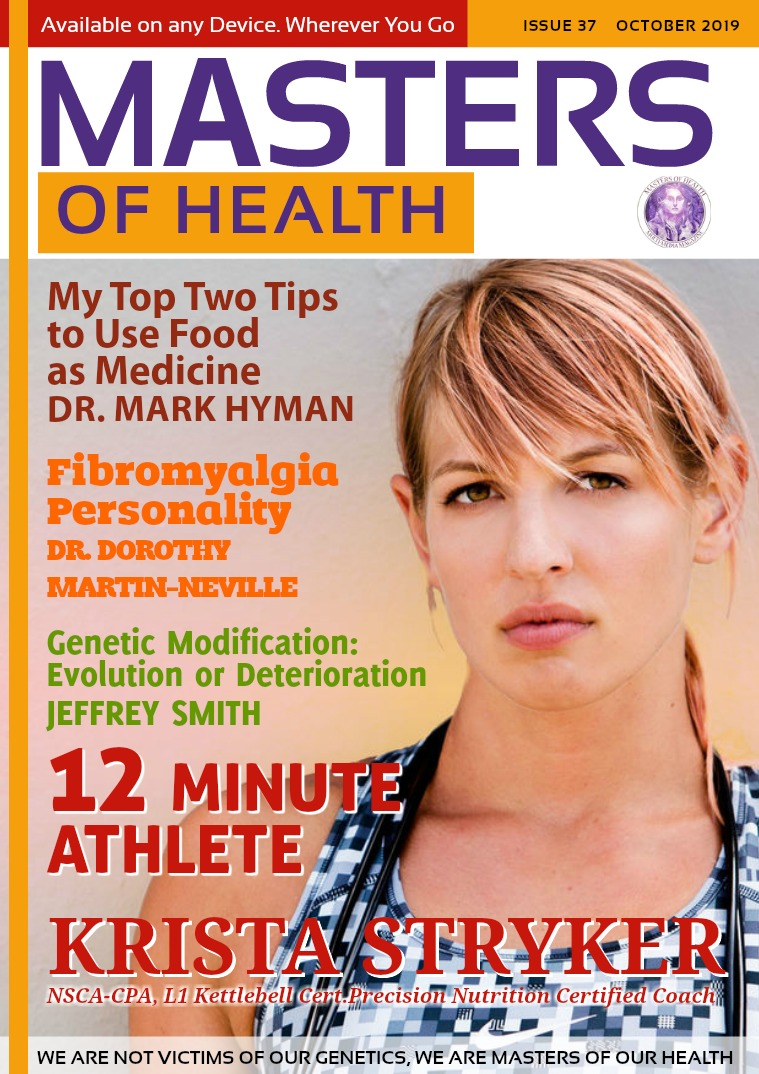 Masters of Health Magazine October 2019