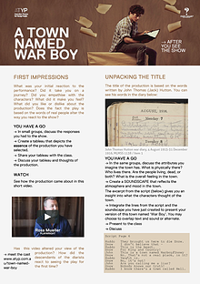 A TOWN NAMED WAR BOY: ATYP