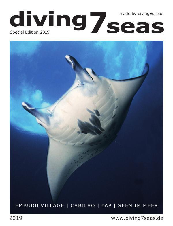 diving7seas Sonderausgabe