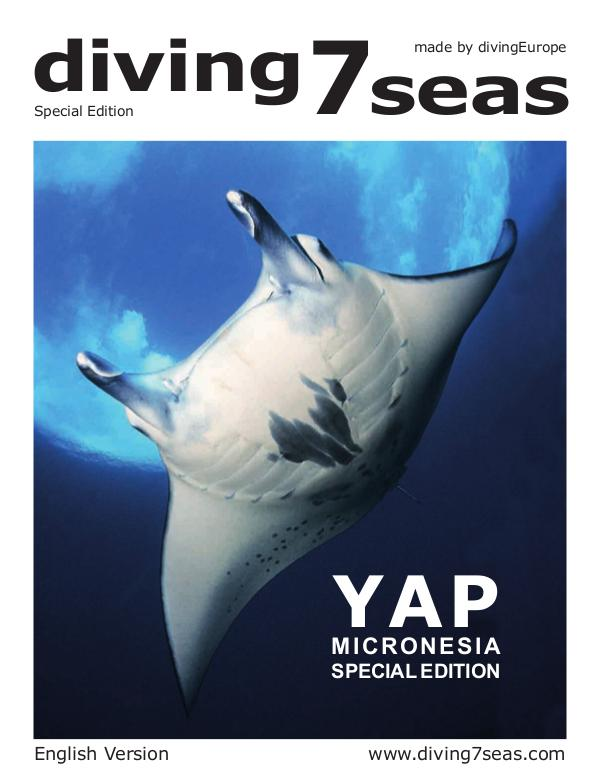 diving7seas – Special Edition YAP / ENGLISH