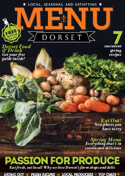 MENU DORSET issue 08 65 pages