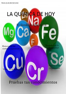 EL SÍMBOLO DE LOS ELEMENTOS QUIMICOS