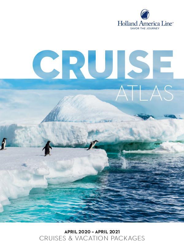 Holland America Line Cruise Atlas • 2020/21