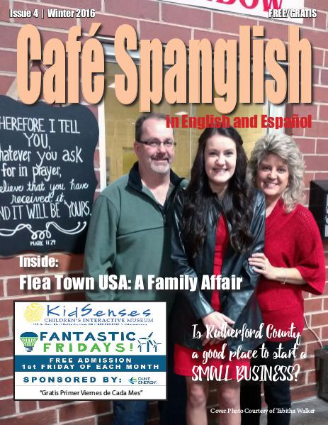Cafe Spanglish Magazine Issue #4 Winter 2016