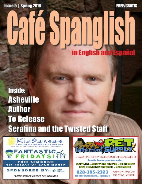 Cafe Spanglish Magazine Café Spanglish Magazine Issue #5