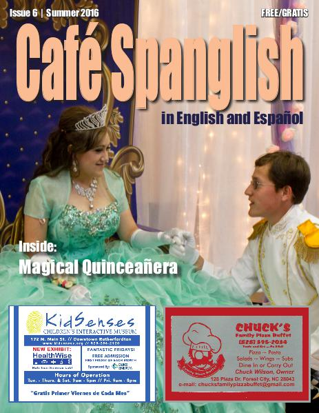Cafe Spanglish Magazine Café Spanglish Magazine Issue #6