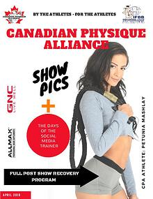 CANADIAN PHYSIQUE ALLIANCE