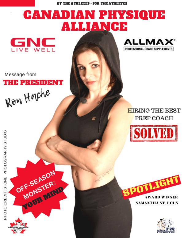 CANADIAN PHYSIQUE ALLIANCE FEBRUARY 2019