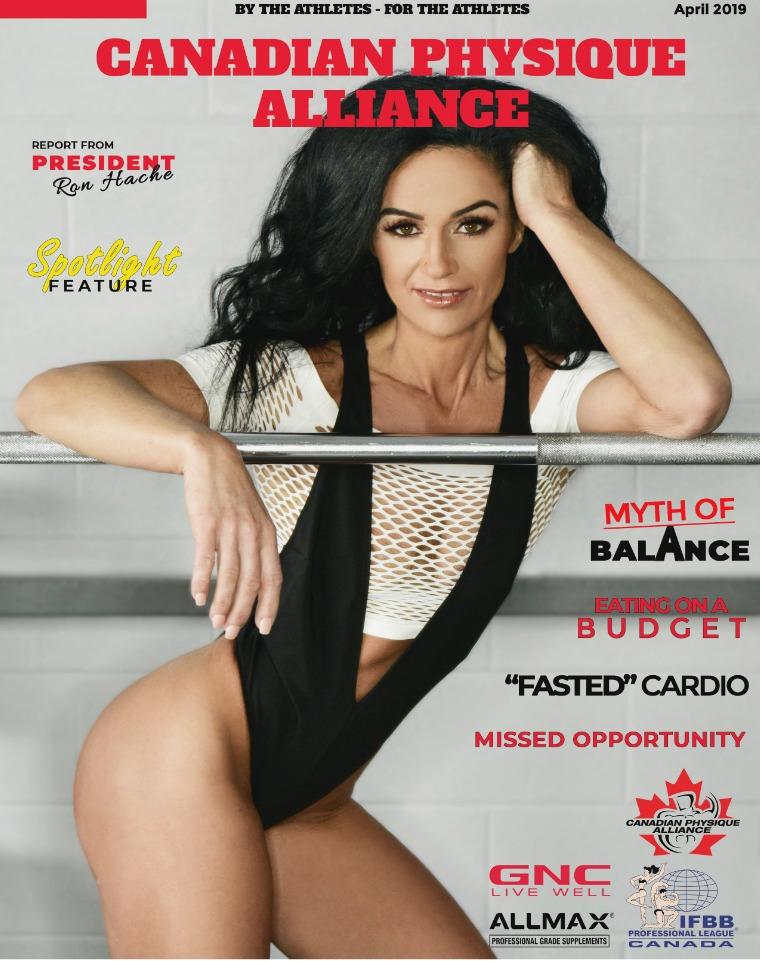 CANADIAN PHYSIQUE ALLIANCE APRIL 2019
