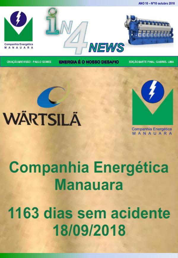 Revista Outubro Jornal Manauara - outubro 2018