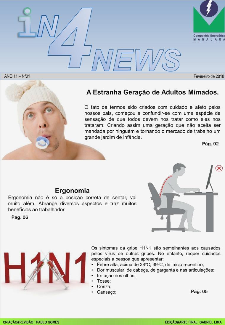 Revista Janeiro e Fevereiro Jornal Manauara