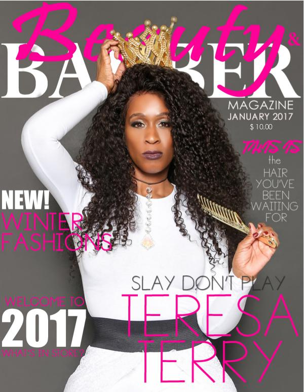 Beauty and Barbers Magazine Issue Vol. 4