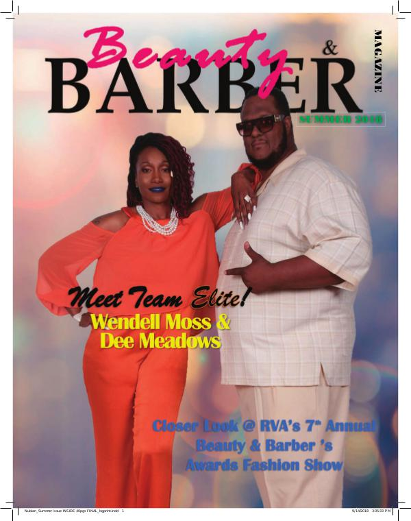 Beauty and Barbers Magazine Nubian_Summer Issue INSIDE 40pgs FINAL reduced siz