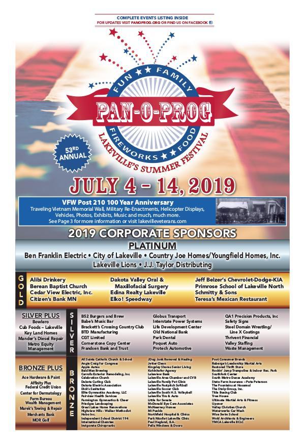 Sun Thisweek & Dakota County Tribune Sections Pan-O-Prog 2019