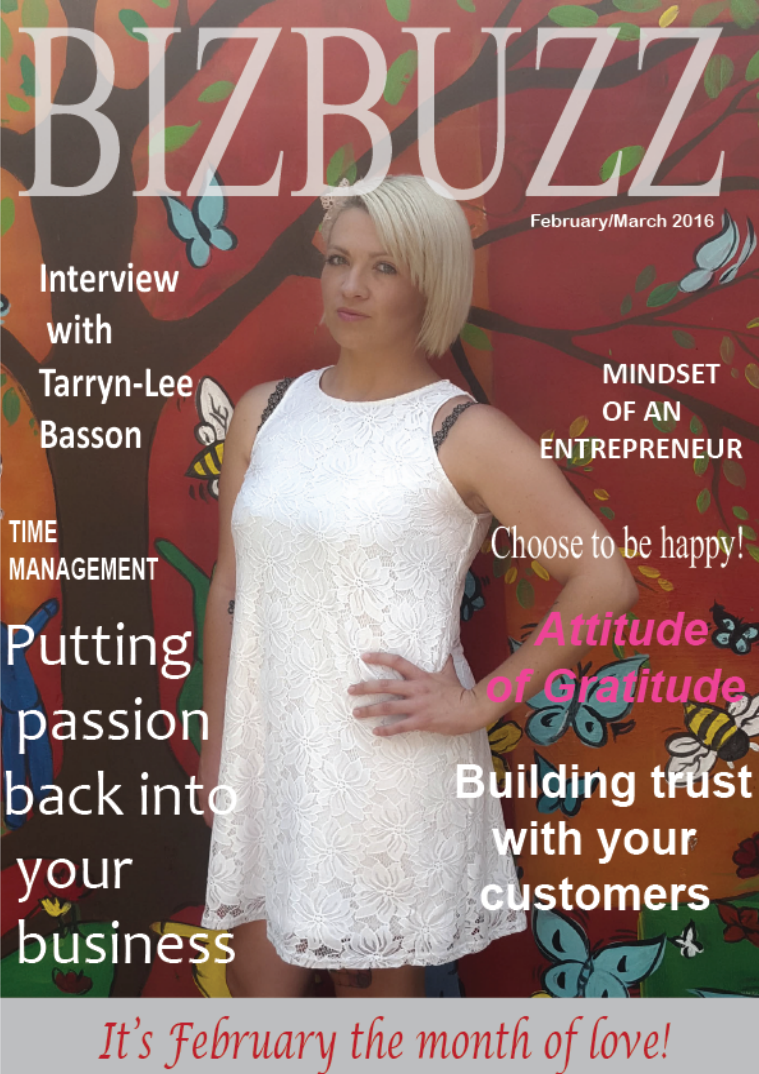 BizBuzz - the magazine for woman in business February/March 2016
