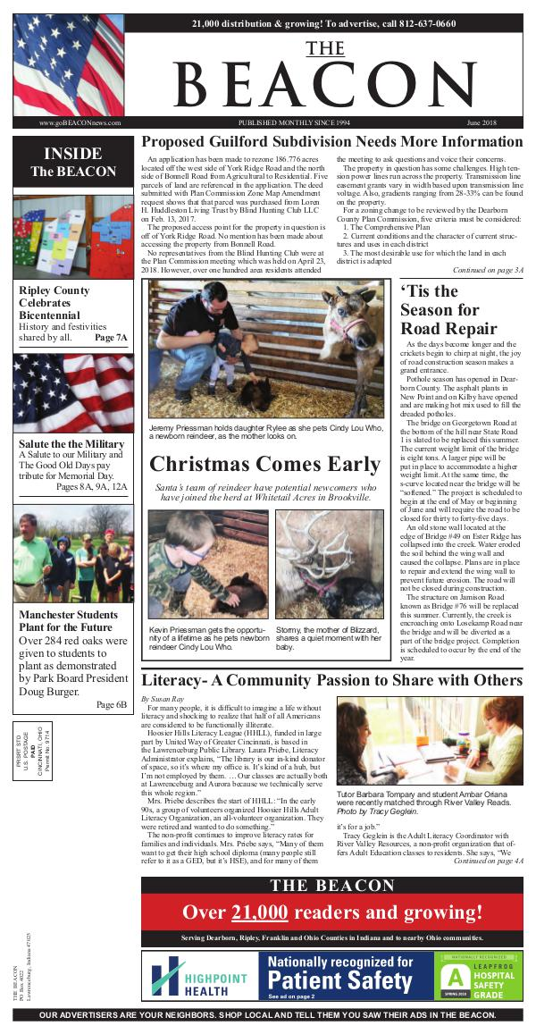 the BEACON Newspaper, Indiana beacon6-18