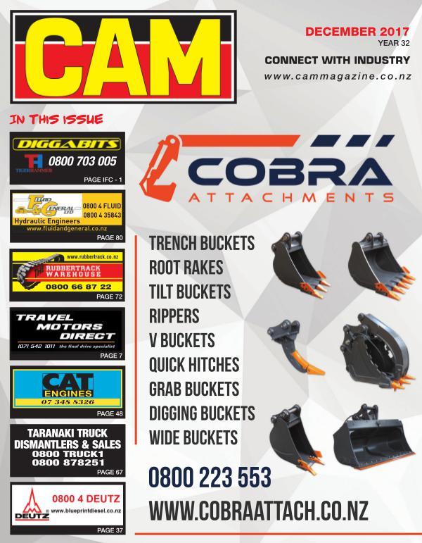 CAM December 2017 Issue