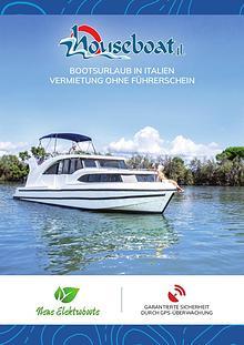 Houseboat-Katalog - Italien