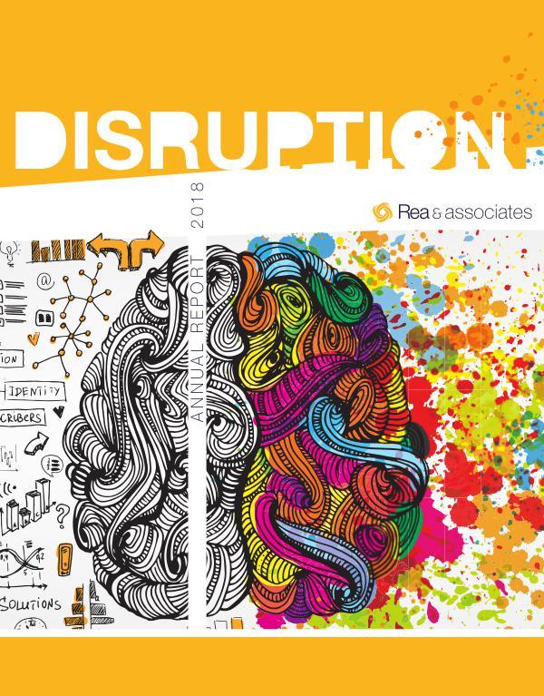 Rea's Annual Report Disruption: 2018 Annual Report