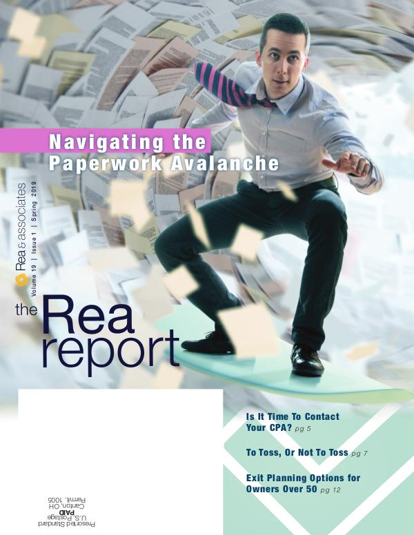 The Rea Report Spring 2019