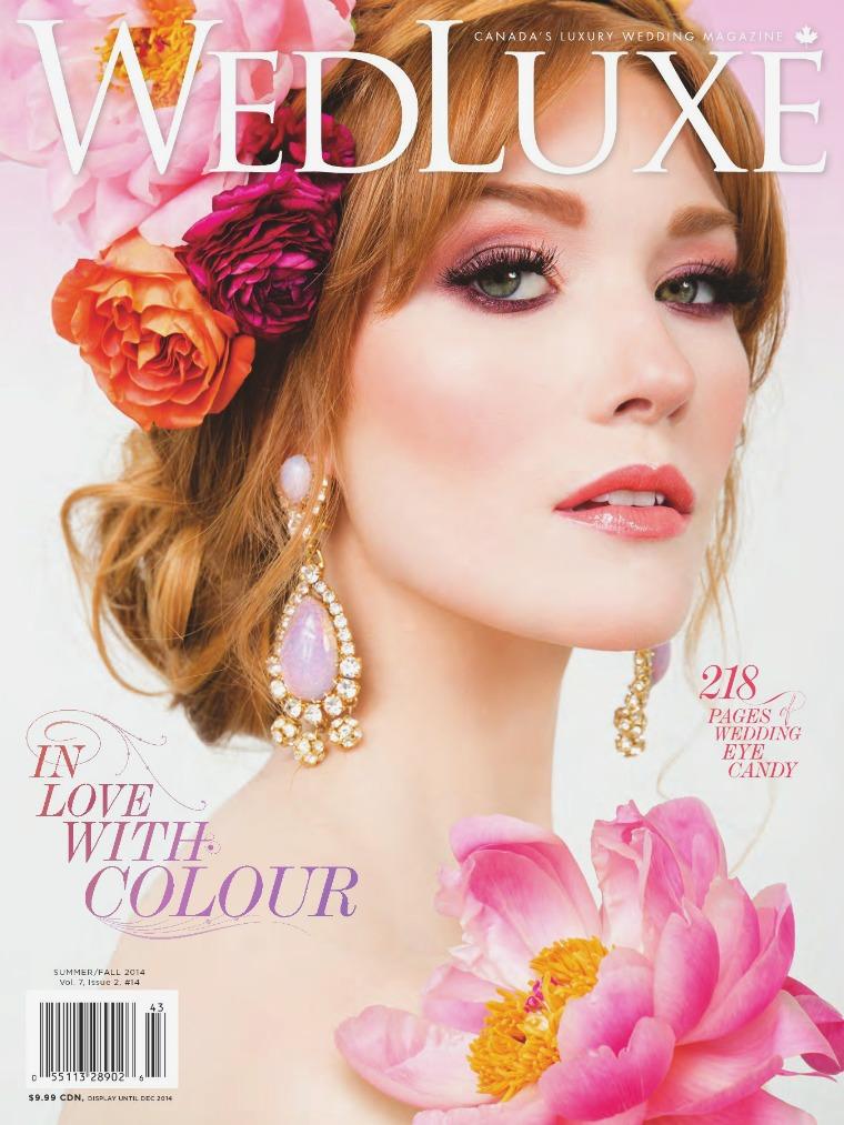 WedLuxe Magazine Summer/Fall 2014 Toronto & Eastern Canada