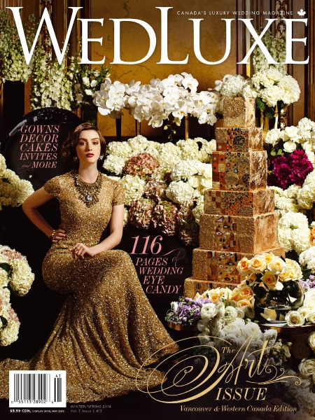 WedLuxe Magazine Winter/Spring 2014 Vancouver & Western Canada
