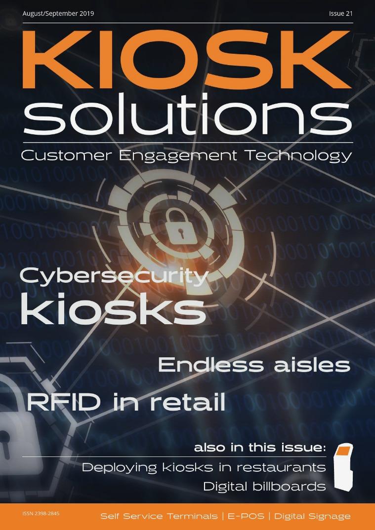 Kiosk Solutions Aug-Sept 2019