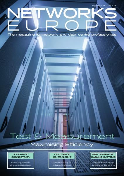 Networks Europe Issue 5 September/October 2016