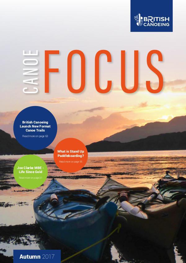 Canoe Focus Autumn 2017