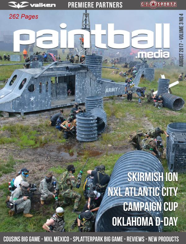 August 2017 Paintball.Media Issue