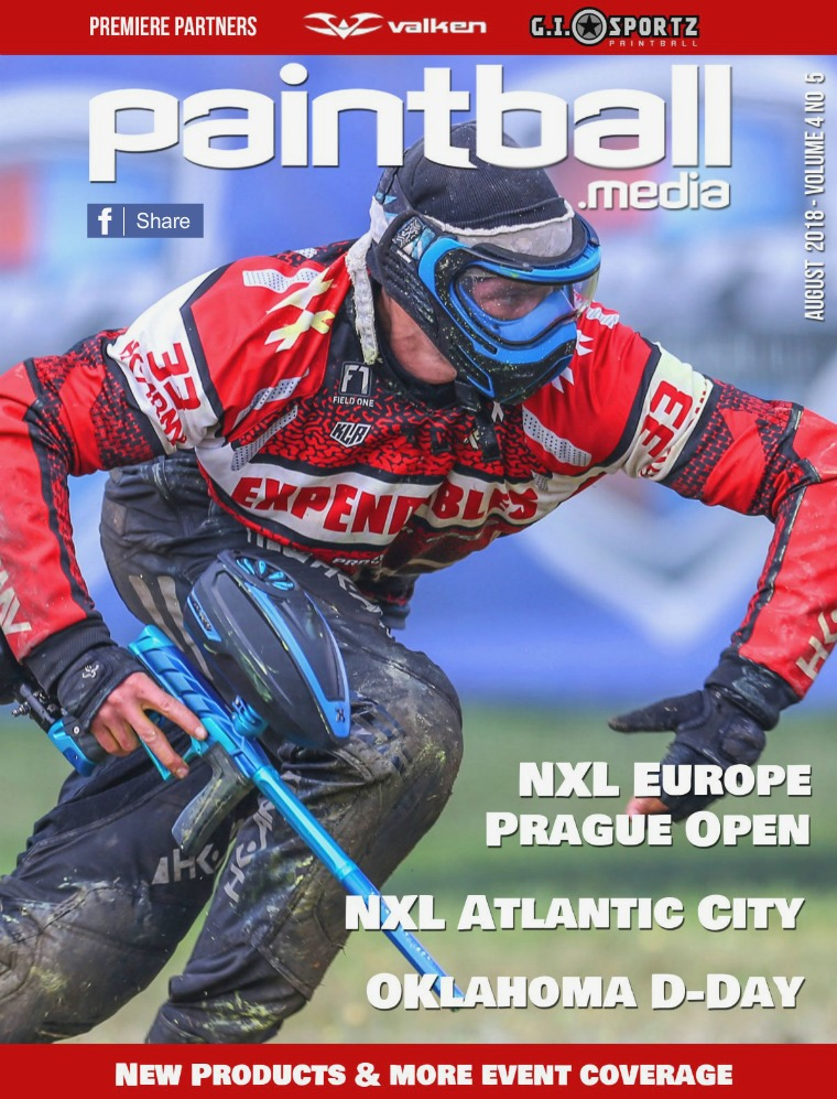 Paintball Magazine August 2018