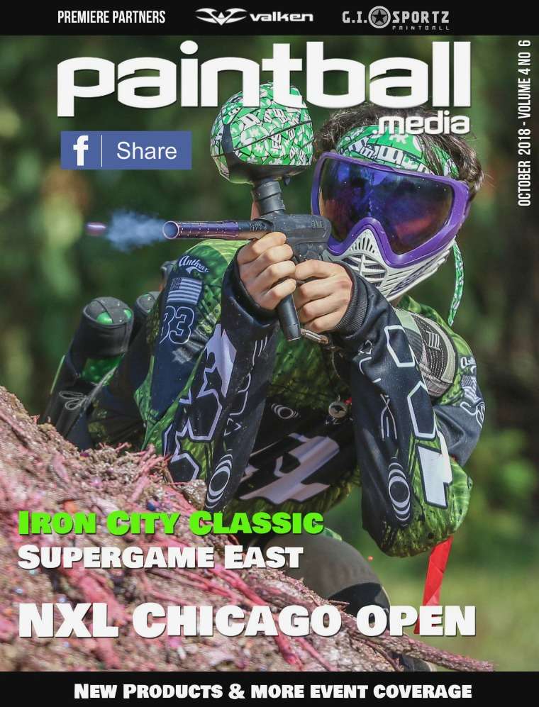 Paintball Magazine October 2018