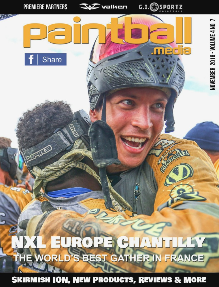 Paintball Magazine November 2018 Issue