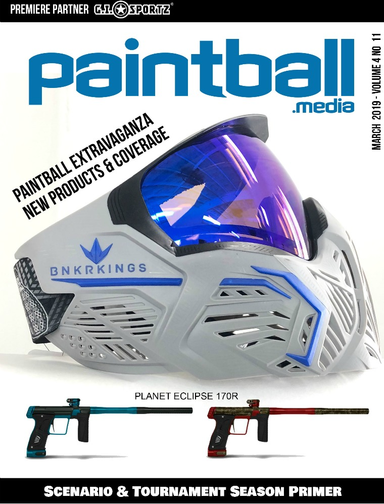 Paintball Magazine March 2019 Issue