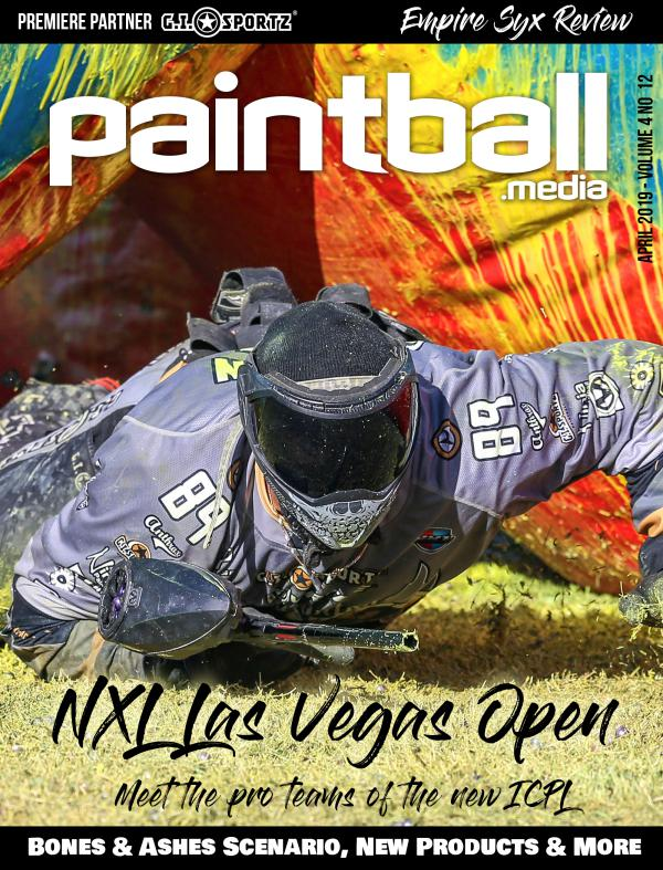 Paintball Magazine Paintball Media Magazine April 2019