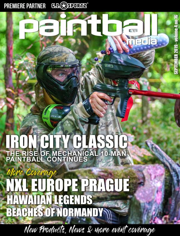 Paintball Magazine Paintball.Media Magazine September 2019
