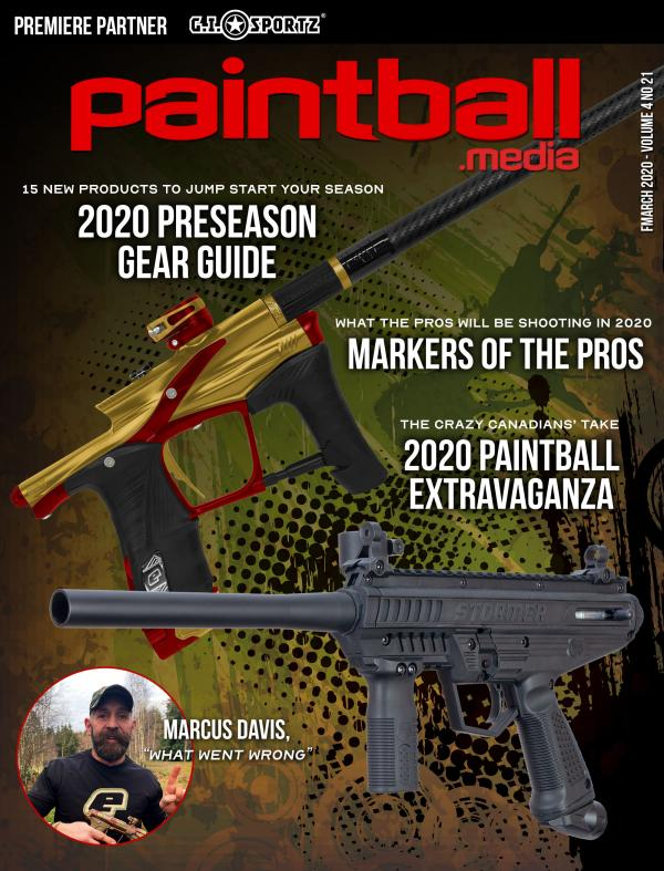 Paintball Magazine March 2020 Issue