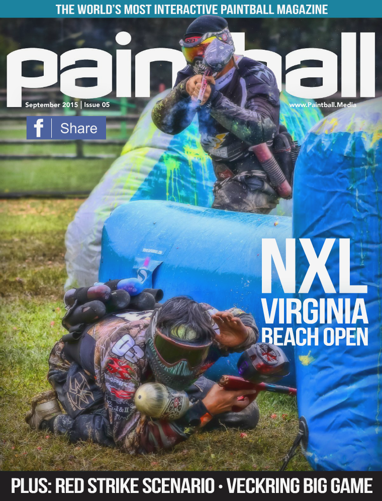Paintball Magazine September 2015