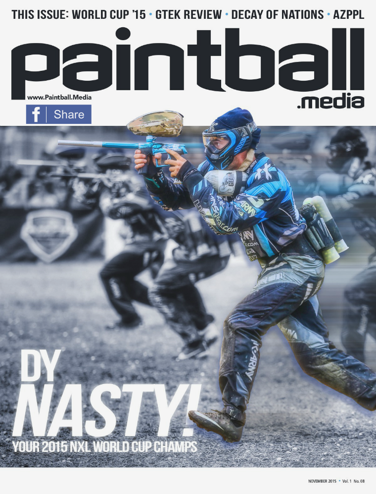 Paintball Magazine November 2015 Issue