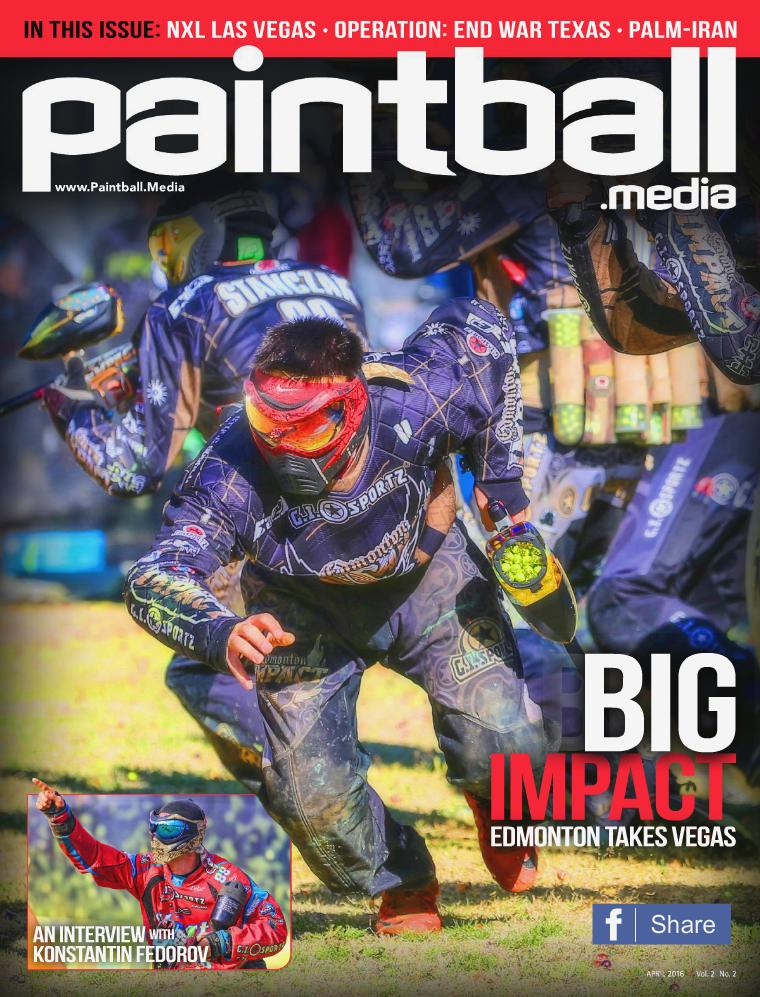 Paintball Media Magazine April 2016