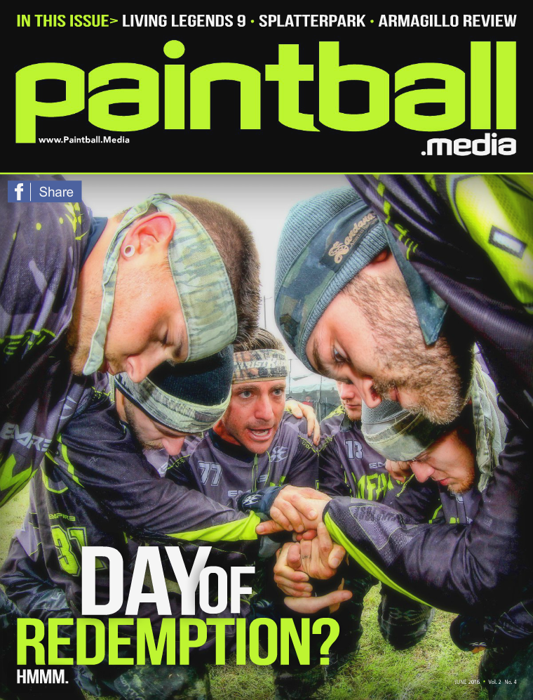 Paintball Media Magazine June 2016 Issue