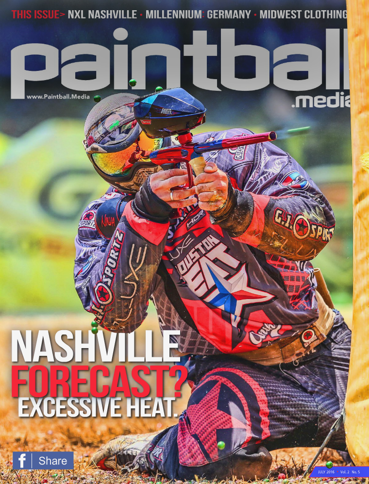 Paintball Media Magazine July 2016 Issue
