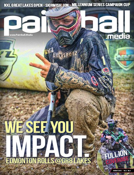 Paintball Magazine August 2016 Issue